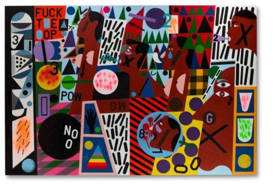 Nina Chanel Abney 540x383 - Q-Tip: The Collection Exhibition at Bonhams September 20 - October 4, 2019 @QtipTheAbstract @bonhams1793