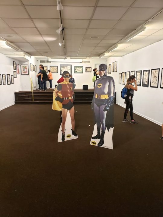20190921 150320 540x720 - Illustrating Batman: Eighty Years of Comics and Pop Culture  June 12, 2019 - October 12, 2019 at Society of Illustrators @SOI128 @DCBatman