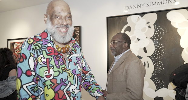 DSC9661 620x330 - Event Recap: Danny Simmons Alone Together Private Reception at George Billis Gallery @ogilvy @rush_art @miolowinegroup_ #ShinjuWhisky #AloneTogether