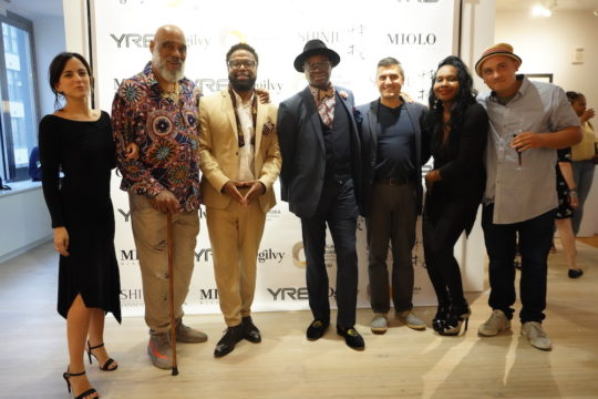 photos by Stella Magloire 115 2 540x360 - Event Recap: Danny Simmons Alone Together Private Reception at George Billis Gallery @ogilvy @rush_art @miolowinegroup_ #ShinjuWhisky #AloneTogether