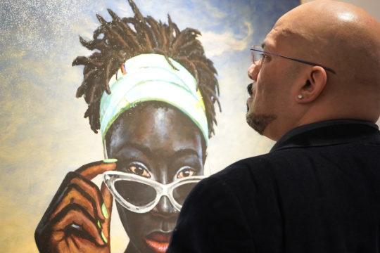 photos by Stella Magloire 131 3 540x360 - Event Recap: Art Now After Hours Season One Launch @artnowafterhours #artnownyc