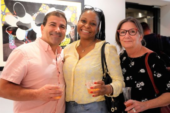 photos by Stella Magloire 141 540x360 - Event Recap: Danny Simmons Alone Together Private Reception at George Billis Gallery @ogilvy @rush_art @miolowinegroup_ #ShinjuWhisky #AloneTogether
