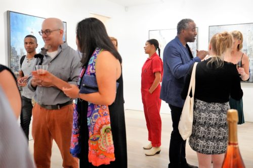 photos by Stella Magloire 145 1 500x333 - Event Recap: Danny Simmons Alone Together Private Reception at George Billis Gallery @ogilvy @rush_art @miolowinegroup_ #ShinjuWhisky #AloneTogether