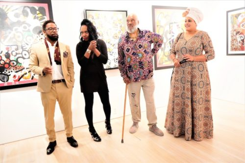 photos by Stella Magloire 186 500x334 - Event Recap: Danny Simmons Alone Together Private Reception at George Billis Gallery @ogilvy @rush_art @miolowinegroup_ #ShinjuWhisky #AloneTogether