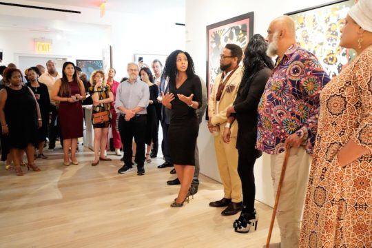 photos by Stella Magloire 192 540x360 - Event Recap: Danny Simmons Alone Together Private Reception at George Billis Gallery @ogilvy @rush_art @miolowinegroup_ #ShinjuWhisky #AloneTogether