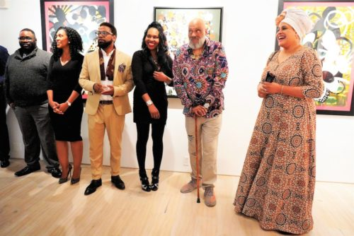 photos by Stella Magloire 201 500x334 - Event Recap: Danny Simmons Alone Together Private Reception at George Billis Gallery @ogilvy @rush_art @miolowinegroup_ #ShinjuWhisky #AloneTogether