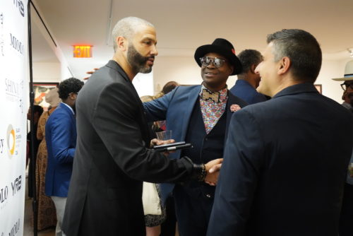 photos by Stella Magloire 246 500x334 - Event Recap: Danny Simmons Alone Together Private Reception at George Billis Gallery @ogilvy @rush_art @miolowinegroup_ #ShinjuWhisky #AloneTogether