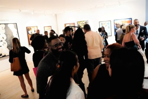 photos by Stella Magloire 248 500x334 - Event Recap: Danny Simmons Alone Together Private Reception at George Billis Gallery @ogilvy @rush_art @miolowinegroup_ #ShinjuWhisky #AloneTogether