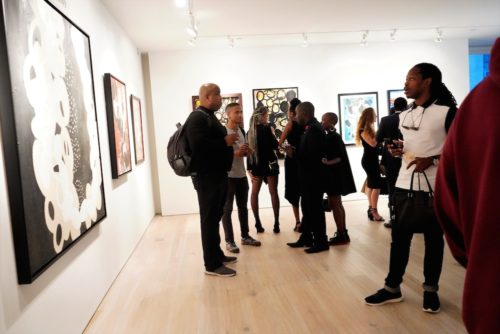photos by Stella Magloire 249 500x334 - Event Recap: Danny Simmons Alone Together Private Reception at George Billis Gallery @ogilvy @rush_art @miolowinegroup_ #ShinjuWhisky #AloneTogether