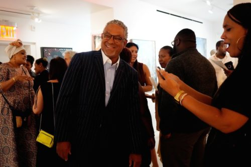 photos by Stella Magloire 251 500x334 - Event Recap: Danny Simmons Alone Together Private Reception at George Billis Gallery @ogilvy @rush_art @miolowinegroup_ #ShinjuWhisky #AloneTogether