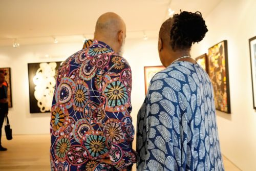 photos by Stella Magloire 26 500x334 - Event Recap: Danny Simmons Alone Together Private Reception at George Billis Gallery @ogilvy @rush_art @miolowinegroup_ #ShinjuWhisky #AloneTogether