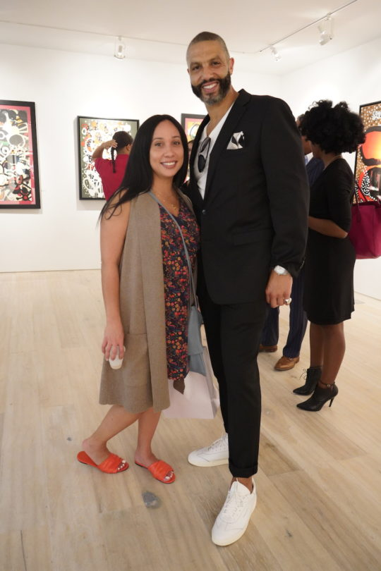 photos by Stella Magloire 278 540x810 - Event Recap: Danny Simmons Alone Together Private Reception at George Billis Gallery @ogilvy @rush_art @miolowinegroup_ #ShinjuWhisky #AloneTogether