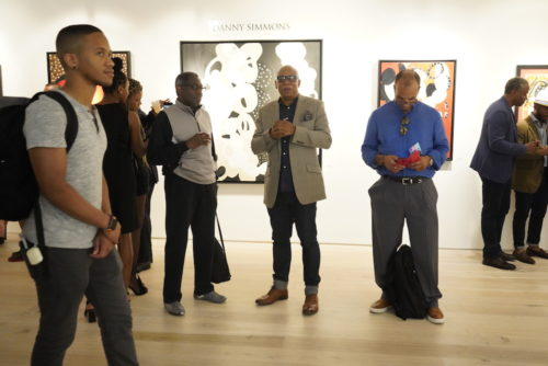 photos by Stella Magloire 294 500x334 - Event Recap: Danny Simmons Alone Together Private Reception at George Billis Gallery @ogilvy @rush_art @miolowinegroup_ #ShinjuWhisky #AloneTogether