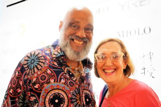 photos by Stella Magloire 30 540x360 - Event Recap: Danny Simmons Alone Together Private Reception at George Billis Gallery @ogilvy @rush_art @miolowinegroup_ #ShinjuWhisky #AloneTogether