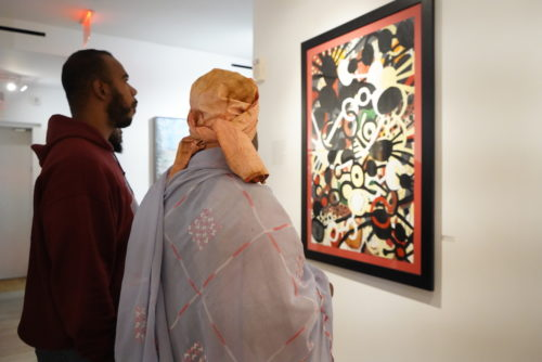 photos by Stella Magloire 45 1 500x334 - Event Recap: Danny Simmons Alone Together Private Reception at George Billis Gallery @ogilvy @rush_art @miolowinegroup_ #ShinjuWhisky #AloneTogether