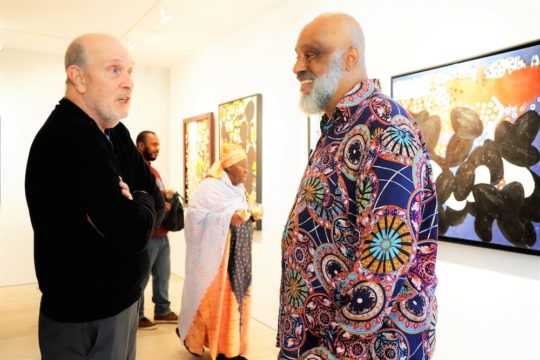 photos by Stella Magloire 52 540x360 - Event Recap: Danny Simmons Alone Together Private Reception at George Billis Gallery @ogilvy @rush_art @miolowinegroup_ #ShinjuWhisky #AloneTogether
