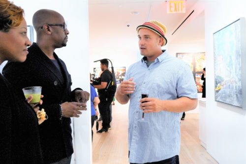 photos by Stella Magloire 67 500x334 - Event Recap: Danny Simmons Alone Together Private Reception at George Billis Gallery @ogilvy @rush_art @miolowinegroup_ #ShinjuWhisky #AloneTogether