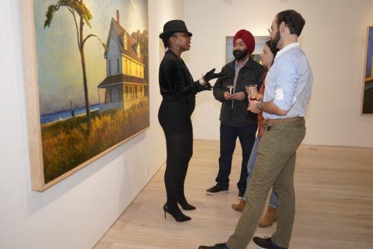 photos by Stella Magloire 99 3 540x360 - Event Recap: Art Now After Hours Season One Launch @artnowafterhours #artnownyc