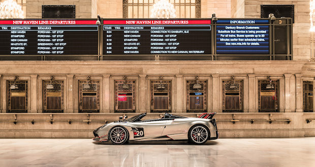 2020 Pagani Huayra Roadster BC Zach Brehl 620x330 - Pagani: The Story of a Dream exhibit in Grand Central Station November 4 - 8, 2019 @OfficialPagani @Pirelli #pagani #TheStoryofaDream #grandcentral
