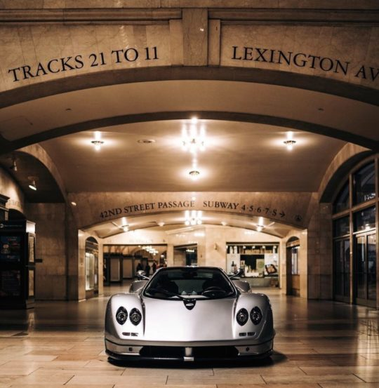 EIYRtg9XsAAbbMi 540x553 - Pagani: The Story of a Dream exhibit in Grand Central Station November 4 - 8, 2019 @OfficialPagani @Pirelli #pagani #TheStoryofaDream #grandcentral