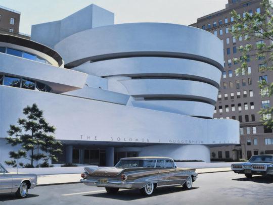 GuggenheimMuseumsized 1 540x406 - Danny Heller - Birth of the Cool Exhibit November 5 – December 7, 2019 at George Billis Gallery @Danny_Heller