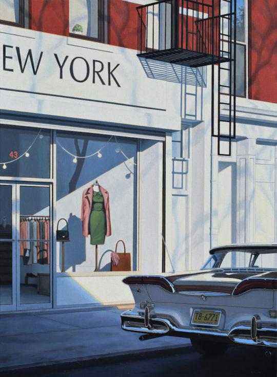 StorefrontWindowsized 540x734 - Danny Heller - Birth of the Cool Exhibit November 5 – December 7, 2019 at George Billis Gallery @Danny_Heller