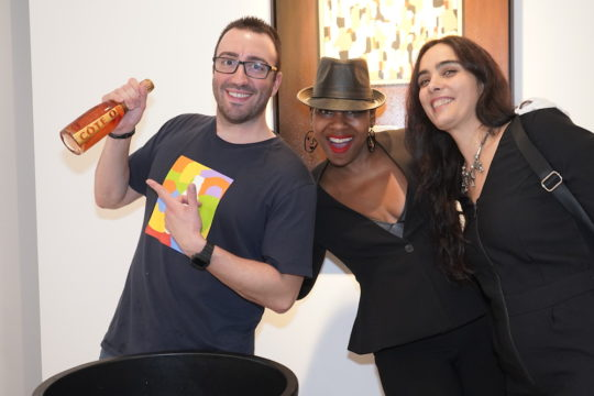photos by Stella Maglore 117 540x360 - Event Recap: Karen Woods …Going Opening Reception at George Billis Gallery