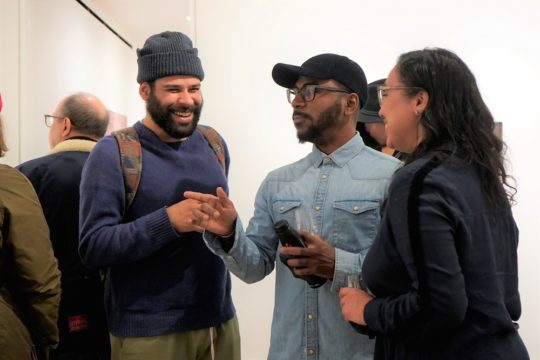 photos by Stella Maglore 40 540x360 - Event Recap: Karen Woods …Going Opening Reception at George Billis Gallery