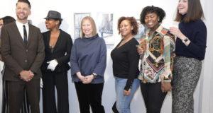 photos by Stella Maglore 69 1 300x160 - Event Recap: Karen Woods …Going Opening Reception at George Billis Gallery