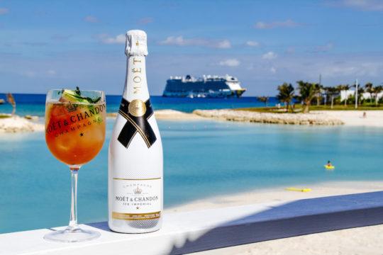 IMG 7448 540x360 - Moët & Chandon and Norwegian Cruise Line debut new luxury Ice Bar experience in the Bahamas. @MoetUSA @CruiseNorwegian