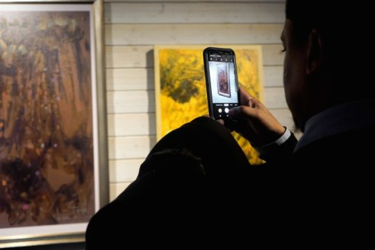 photos by Stella Magloire 106 540x360 - Event Recap: African Americans and The Vote Exhibition
