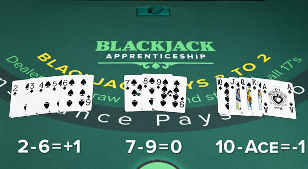 blackjack counting 600x330 - Blackjack card counting: How does it work and can it be used at online casinos?