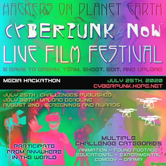 cy 540x539 - Cyberpunk Now Film Festival announced as part of HOPE 2020 Conference @cyberpunkfest @hopeconf @2600 #cyberpunk #hackers #film