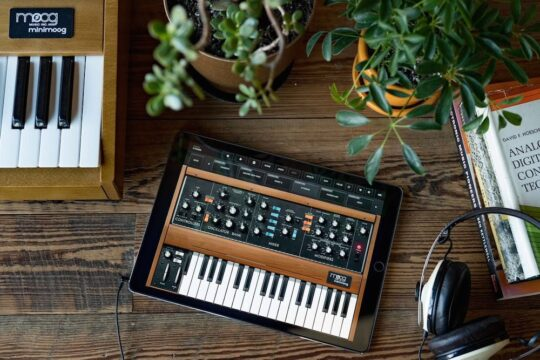 ETBU7jCXYAEpbOK 540x360 - Moog Music's Free Synthesizer App Reaches Over One Million Downloads @moogmusicinc #moog
