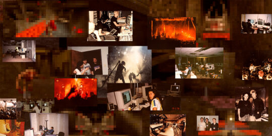 QUAKE essay collage pixelated web 540x271 - John Carmack and American Mcgee reflect on the making of Quake and how NIN helped define the modern video game soundtrack