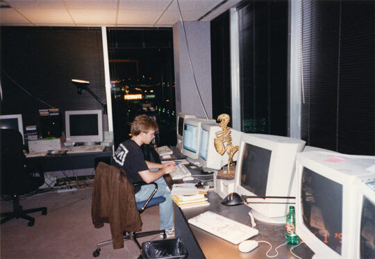 qdev 7 web2 540x373 - John Carmack and American Mcgee reflect on the making of Quake and how NIN helped define the modern video game soundtrack