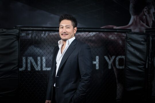 Chatri Sityodtong In Ring 540x359 - ONE Championship and Turner Sports Announce 'ONE on TNT' Event Series Coming to U.S. Prime Time in April @ONEChampionship