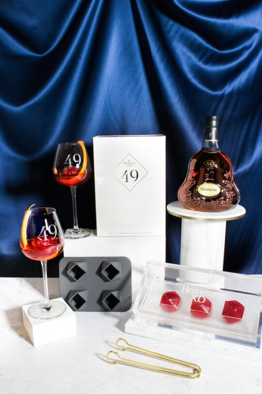Hennessy X.O 49 Commemorative Set 8 540x810 - Hennessy Debuts Commemorative Cocktail Set to Honor  49th VP and the Advancements of Trailblazing Women