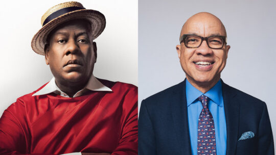 unnamed19 540x304 - André Leon Talley and Darren Walker at Museum of Arts & Design @madmuseum