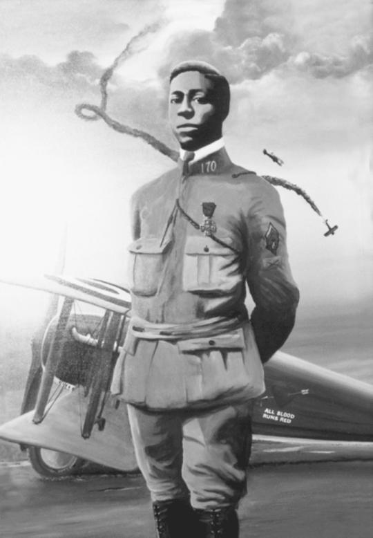 unnamed5 540x778 - Honoring Eugene Bullard (October 9,  1894 - October 13 1961) The first African-American fighter pilot