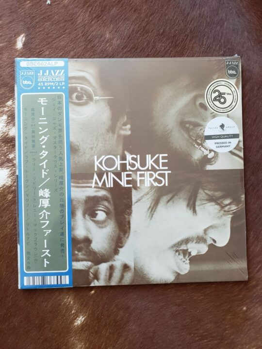 20210423 133023 540x720 - Kohsuke Mine (J Jazz Masterclass Series) First #vinylbase