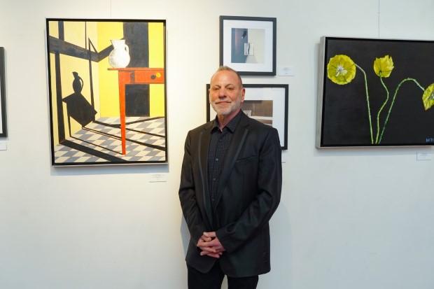 0 Don Hershman - Event Recap:  Victor Arimondi Retrospective Tribute 'Donald and Victor: Under The Influence' With Artist Don Hershman At Salomon Arts Gallery @lawlormedia