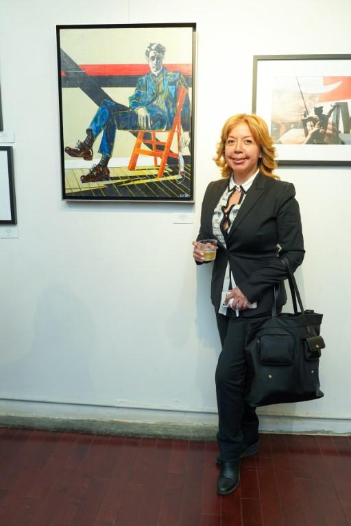 13 Adele Nino - Event Recap:  Victor Arimondi Retrospective Tribute 'Donald and Victor: Under The Influence' With Artist Don Hershman At Salomon Arts Gallery @lawlormedia