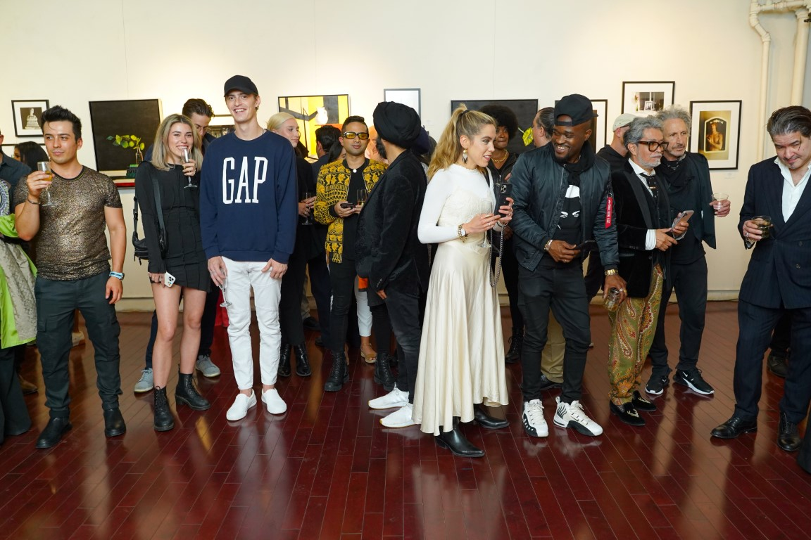 14 Atmosphere 1 - Event Recap:  Victor Arimondi Retrospective Tribute 'Donald and Victor: Under The Influence' With Artist Don Hershman At Salomon Arts Gallery @lawlormedia