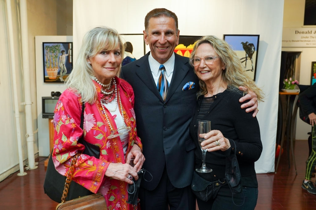 60a5376bb83b2 - Event Recap:  Victor Arimondi Retrospective Tribute 'Donald and Victor: Under The Influence' With Artist Don Hershman At Salomon Arts Gallery @lawlormedia