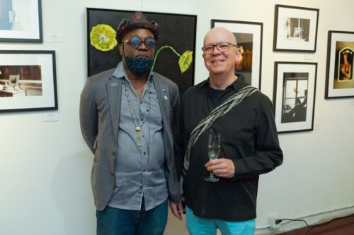 60a538639bd43 500x333 - Event Recap:  Victor Arimondi Retrospective Tribute 'Donald and Victor: Under The Influence' With Artist Don Hershman At Salomon Arts Gallery @lawlormedia