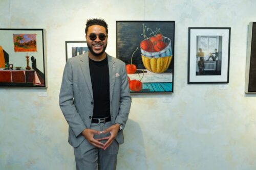 60a538986f939 500x333 - Event Recap:  Victor Arimondi Retrospective Tribute 'Donald and Victor: Under The Influence' With Artist Don Hershman At Salomon Arts Gallery @lawlormedia