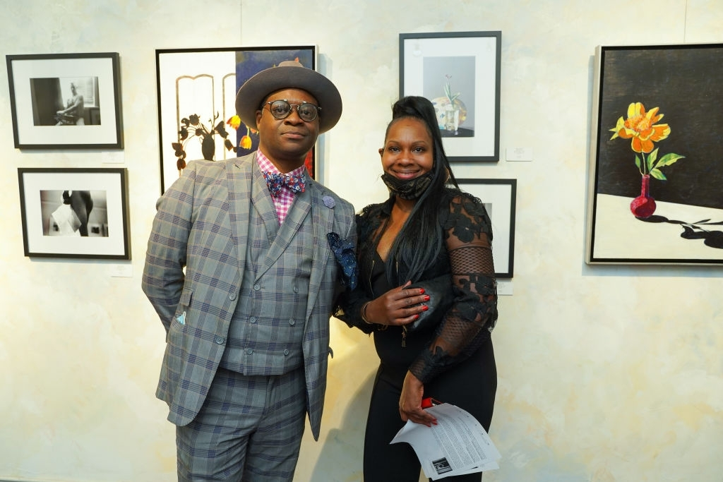 60a539d6559d7 - Event Recap:  Victor Arimondi Retrospective Tribute 'Donald and Victor: Under The Influence' With Artist Don Hershman At Salomon Arts Gallery @lawlormedia