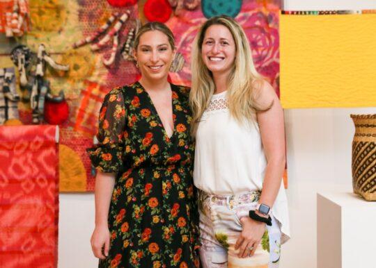 Christina Senia Danielle Hankin 1 540x386 - Event Recap: Museum of Arts and Design Preview of New Exhibitions @MADmuseum