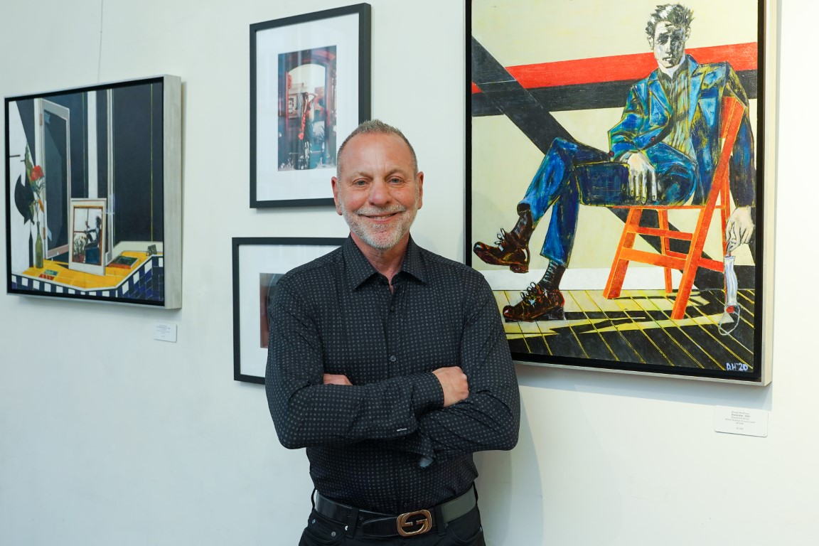 Don Hershman - Event Recap:  Victor Arimondi Retrospective Tribute 'Donald and Victor: Under The Influence' With Artist Don Hershman At Salomon Arts Gallery @lawlormedia